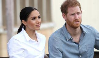 Meghan Markle und Prinz Harry sollen private Aufnahmen aus dem Palast besitzen. (Foto)