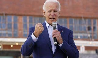 US-Präsidentschaftskandidat Joe Biden gilt als erfahren und einfühlsam. (Foto)