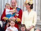 Prinz Louis sollte eigentlich einen anderen Namen bekommen - doch die Queen ging auf die Barrikaden. (Foto)