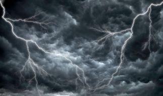 Sturmtief Brigitte wütet über Westeuropa. (Foto)