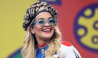 Rita Ora begeistert mit ihrer Schuhkollektion. (Foto)
