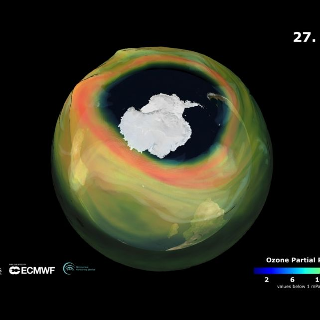 Größer als je zuvor! Wissenschaftler warnen vor Extrem-Ozonloch (Foto)