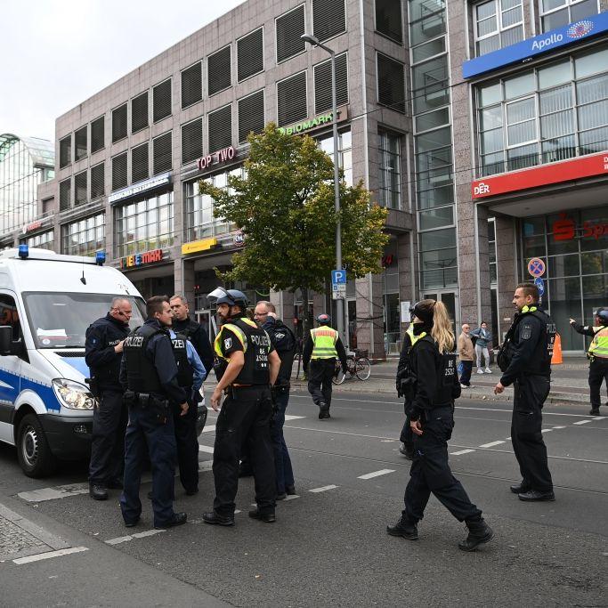 SEK stürmt Postbank! Täter festgenommen (Foto)