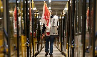 Bahnstreik: In dieser Woche wird wieder in einigen Bundesländern gestreikt. (Symbolfoto) (Foto)