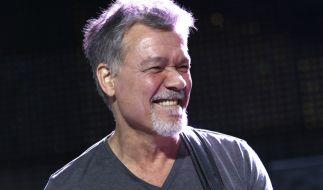 Eddie Van Halen ist mit 65 Jahren gestorben. (Foto)