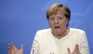 Angela Merkel spricht sich gegen einen zweiten Lockdown aus. (Foto)