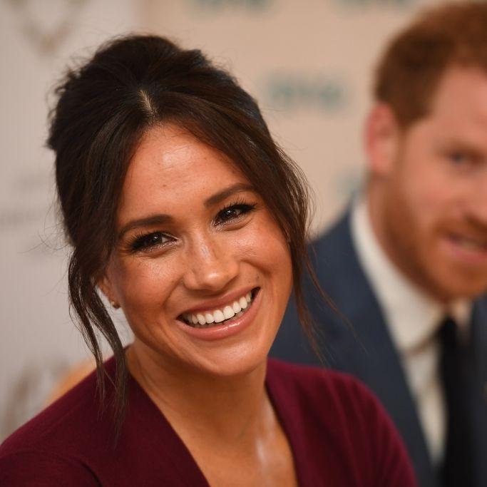 Endlich! Herzogin Meghan freut sich über Baby-News (Foto)