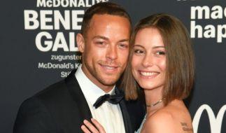 Andrej Mangold, hier mit Jennifer Lange bei einer Benefiz-Gala (Foto)