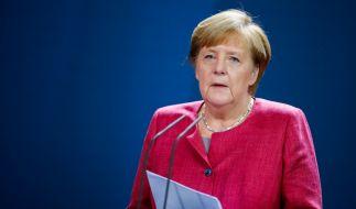 Angela Merkel und die Ministerpräsidenten kommen heute erstmal wieder live in Berlin zusammen. (Foto)