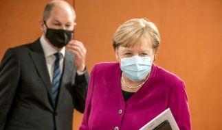 Bundeskanzlerin Angela Merkel hat die neu beschlossenen Maßnahmen zur Eindämmung der Coronavirus-Pandemie als zu lax kritisiert. (Foto)