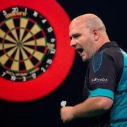 Alle Scores laut Spielplan der European Darts Championship (Foto)