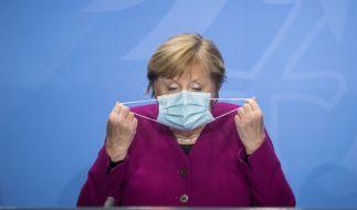Angela Merkel befürchtet ein exponentielle Wachstum. (Foto)
