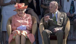 Queen Elizabeth II. und Prinz Philip feiern im November 2020 ihren 73. Hochzeitstag. (Foto)