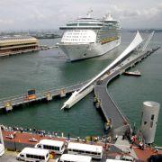 Auf dem Kreuzfahrtschiff