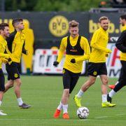 Die Dortmunder Borussen müssen am 1. Spieltag der Champions-League-Gruppenphase gegen Lazio Rom ran.