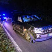 Flüchtiger Fahrer (66) gefasst! Fahrradfahrer (55) von Auto gerammt und tödlich verletzt (Foto)