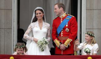Die Hochzeit von Kate Middleton und Prinz William am 29. April 2011 ging in die Royals-Geschichte ein. (Foto)