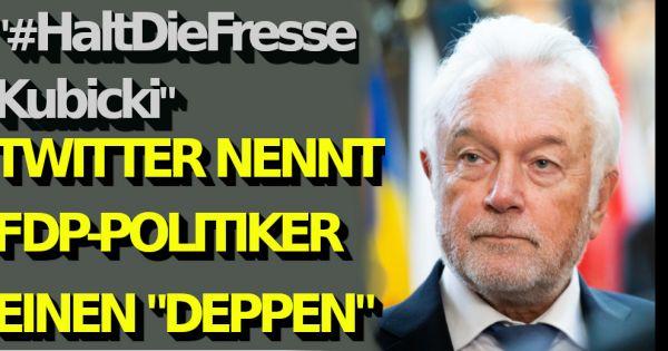 """Wolfgang Kubicki in Corona-News: """"#HaltDieFresseKubicki!"""" Twitter beschimpft FDP-Politiker als """"Deppen"""""""