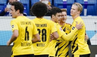 Borussia Dortmund tritt auch 2020/21 in der Champions League an. (Foto)