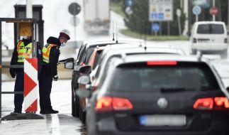 Bayern schließt eine erneute Grenzschließung aufgrund der steigenden Corona-Zahlen nicht aus. (Foto)