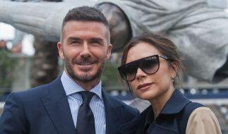 David Beckham küsst seine Tochter Harper Seven (9) auf den Mund - und das Netz rastet aus. (Foto)