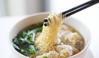 In China löschte ein tiefgefrorenes Nudelgericht beinahe eine ganze Familie aus. (Foto)