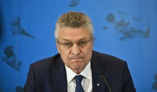 RKI-Chef Lothar Wieler informiert über die aktuelle Corona-Lage. (Foto)