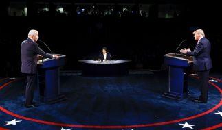 Beim zweiten TV-Duell zwischen den US-Präsidentschaftskandidaten Joe Biden und Donald Trump war nicht jede Behauptung für bare Münze zu nehmen. (Foto)
