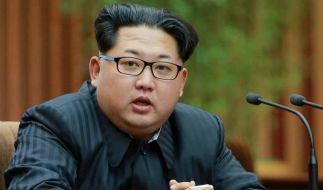 Kim Jong-un hat Corona-Panik. (Foto)