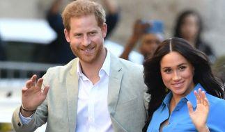 Laut Royal-News ist Prinz Harrys Frau Meghan Markle bereits im sechsten Monat schwanger. (Foto)