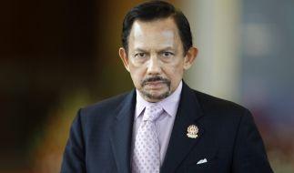Hassanal Bolkiah, der Sultan von Brunei, trauert um seinen Sohn Prinz Azim. (Foto)