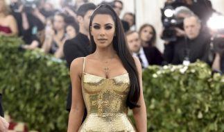 Auf Instagram zeigte Kim Kardashian ihren Fans, wie 40 Jahre bei ihr aussehen. Da staunten die Follower nicht schlecht. (Foto)
