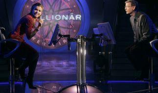 """Anke Engelke war beim 34. Prominentenspecial von Günther Jauchs """"Wer wird Millionär?"""" zu Gast. (Foto)"""