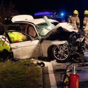 Todesdrama auf Bundesstraße! 2 Tote, ein Schwerverletzter (Foto)