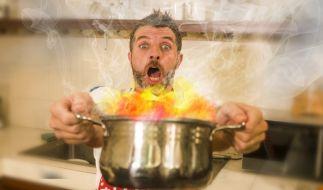 Küchenunfälle passieren jedem Mal! (Foto)