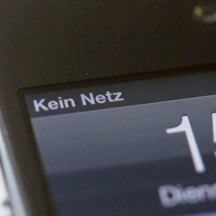 Server überlastet! Wo gibt's keinen Handyempfang in Deutschland? (Foto)