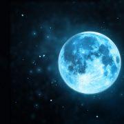 Seltenes Spektakel! Winziger Blue Moon an Halloween (Foto)