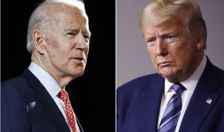 Joe Biden greift Donald Trump im Wahlkampf scharf an. (Foto)