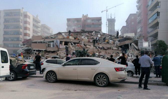Erdbeben im Westen der Türkei