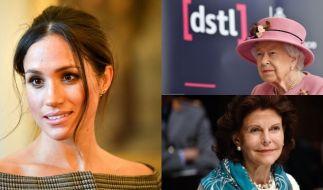 Die Royal-News berichteten in dieser Woche über Meghan Markle, Königin Silvia von Schweden und Queen Elizabeth II. (Foto)