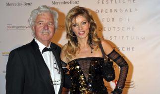 Designerin und Society-Lady Gisela Muth, hier 2011 mit ihrem Ehemann Hans-Georg Muth, ist im Alter von nur 60 Jahren gestorben. (Foto)