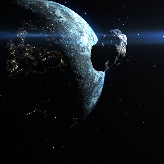 180-Meter-Brocken nimmt Kurs auf die Erde (Foto)