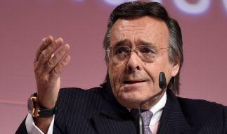 Der Präsident des Bundesverbands mittelständische Wirtschaft (BVMW), Mario Ohoven, ist im Alter von 74 Jahren gestorben. (Foto)