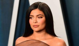Kylie Jenner macht auf Giftschlange. (Foto)