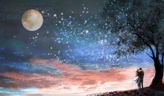 Was verspricht der Mond Singles und Liebenden? Das bringt Ihnen der Löwe-Mond in der Liebe. (Foto)
