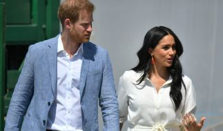 Müssen Prinz Harry und Meghan Markle den Zorn von Queen Elizabeth II. fürchten? (Foto)