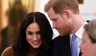 Meghan Markle und Prinz Harry haben seit ihrem Megxit-Alleingang erheblich an Beliebtheit eingebüßt. (Foto)