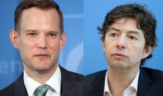 Die Virologen Hendrik Streeck (links) und Christian Drosten. (Foto)