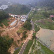 Guatemala befürchtet etwa 150 Tote nach Erdrutsch wegen Unwetters.