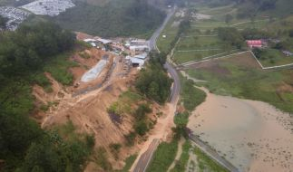 Guatemala befürchtet etwa 150 Tote nach Erdrutsch wegen Unwetters. (Foto)